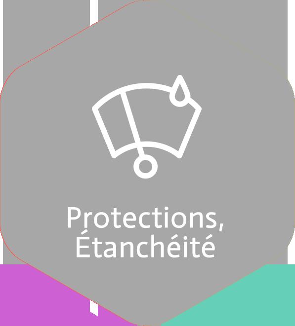 Protections, Étanchéité