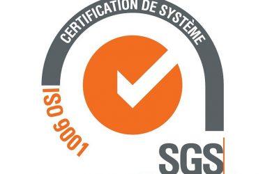 ALCYON ÉLECTRONIQUE obtient sa certification ISO 9001:2015