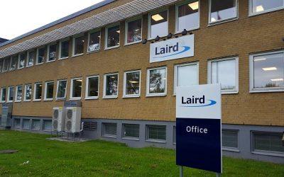 Training technique chez  LAIRD à Göteborg en  Suède